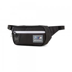Сумка на пояс BMW M Motorsport Waist Bag PUMA. Цвет: черный