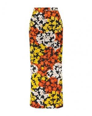 Длинная юбка McQ Alexander McQueen. Цвет: черный