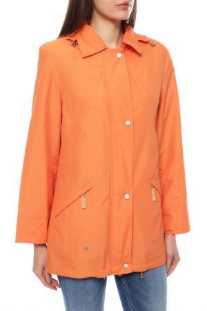 Ветровка BURTLEY. Цвет: оранжевый