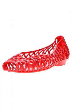 Ботинки American Apparel. Цвет: red