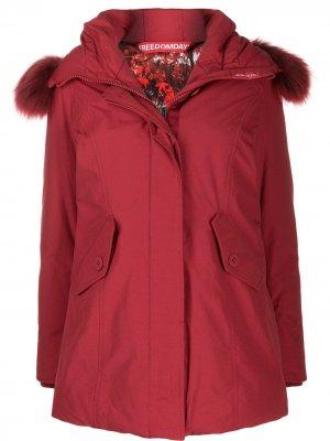 Куртка-пуховик Chamois Freedomday. Цвет: красный