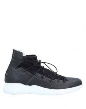 Высокие кеды и кроссовки IXOS. Цвет: черный