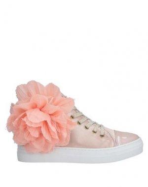 Высокие кеды и кроссовки JARRETT. Цвет: розовый