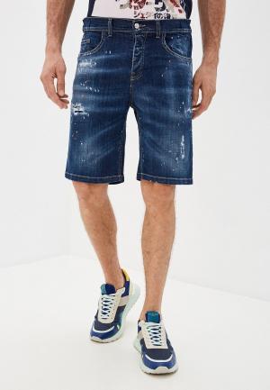 Шорты джинсовые Frankie Morello. Цвет: синий