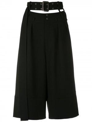 Укороченные брюки Gloria Coelho. Цвет: черный