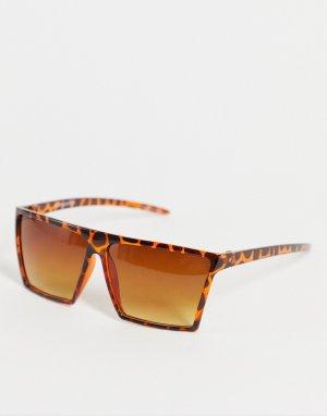 Солнцезащитные очки с черепаховым дизайном -Коричневый цвет Jack & Jones