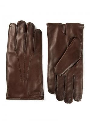Перчатки Dolce & Gabbana. Цвет: коричневый