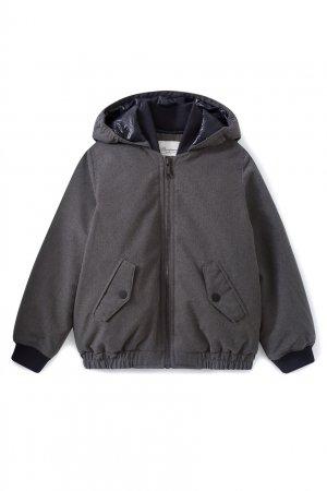 Темно-серая куртка Pierce Bonpoint. Цвет: серый