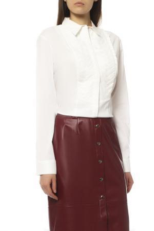 Блуза EXETERA. Цвет: белый