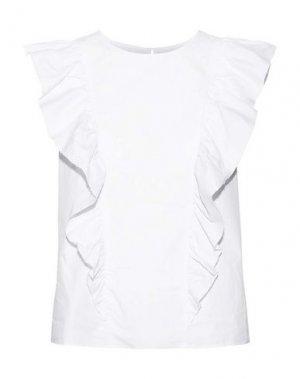 Блузка CURRENT/ELLIOTT. Цвет: белый