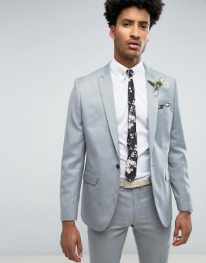 Приталенный пиджак Farah Wedding-Зеленый цвет Smart