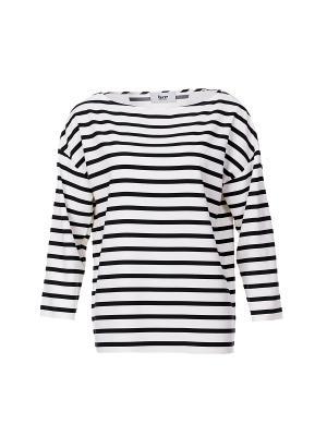 Блуза BZR. Цвет: черный
