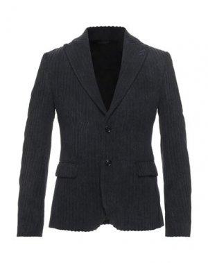 Пиджак GREY DANIELE ALESSANDRINI. Цвет: свинцово-серый