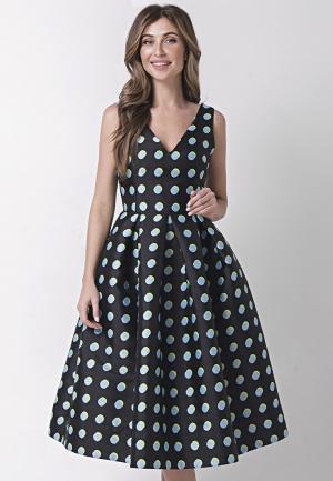 Платье Olga Skazkina. Цвет: черный