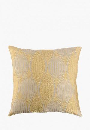Подушка декоративная Wess Energy 40х40. Цвет: желтый