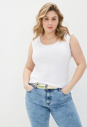Майка Adele Fashion. Цвет: белый