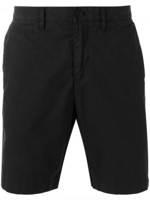 Классические брюки чинос Burberry. Цвет: чёрный
