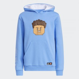 Худи x LEGO® Trae Young adidas. Цвет: синий
