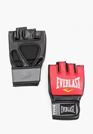 Перчатки боксерские Everlast Pro Style Grappling. Цвет: красный