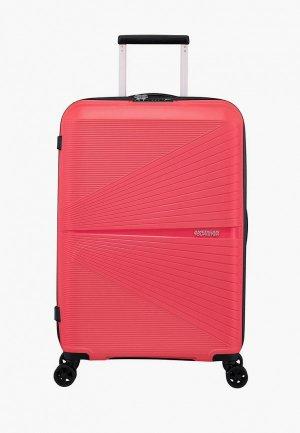 Чемодан American Tourister AIRCONIC. Цвет: розовый