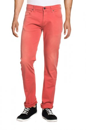 JEANS 7 for all mankind. Цвет: red