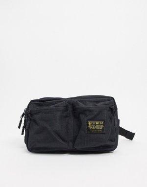 Черная сумка-кошелек на пояс Recruit street-Черный Element