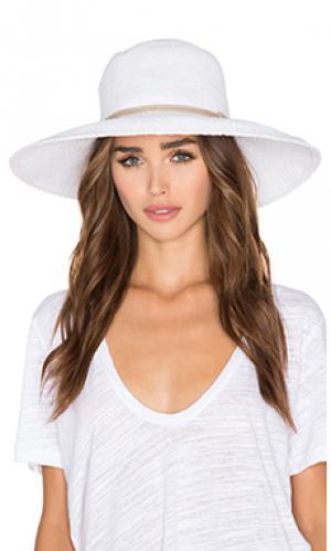 Шляпа praia ale by alessandra. Цвет: белый