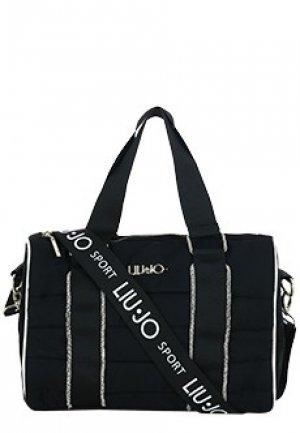 Спортивная сумка LIU JO. Цвет: черный