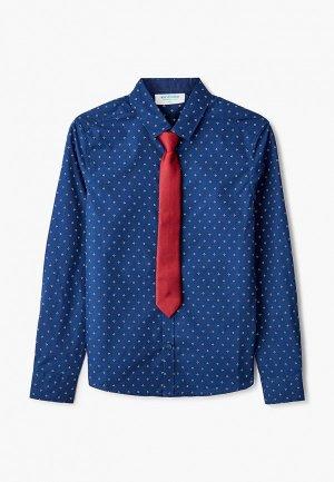 Рубашка Acoola. Цвет: синий