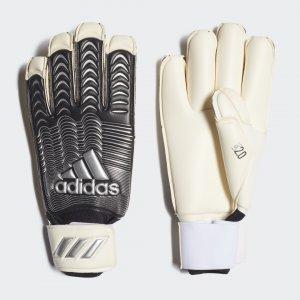 Вратарские перчатки Classic Pro Fingertip Performance adidas. Цвет: черный