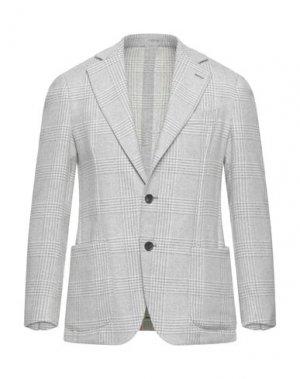 Пиджак 0909 FATTO IN ITALIA. Цвет: светло-серый