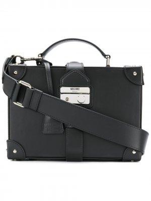Портфель Moschino. Цвет: черный