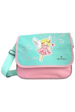 Сумка Ангелочек 30x8x24 см ANGEL COLLECTION. Цвет: розовый