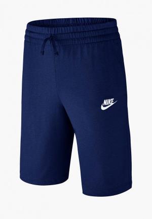 Шорты джинсовые Nike BOYS SPORTSWEAR SHORT. Цвет: синий