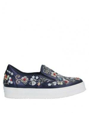 Низкие кеды и кроссовки SGN GIANCARLO PAOLI. Цвет: темно-синий
