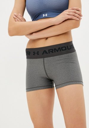 Шорты спортивные Under Armour UA HG WM WB Shorty. Цвет: серый