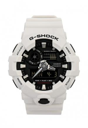 Часы Casio G-SHOCK GA-700-7A. Цвет: белый