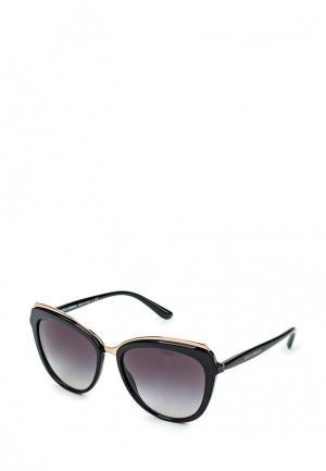 Очки солнцезащитные Dolce&Gabbana DG4304 501/8G. Цвет: черный