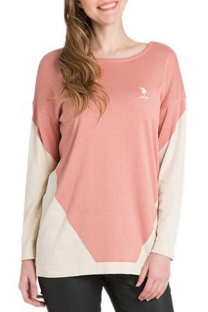 Пуловер U.S. Polo Assn.. Цвет: vr047 желтый