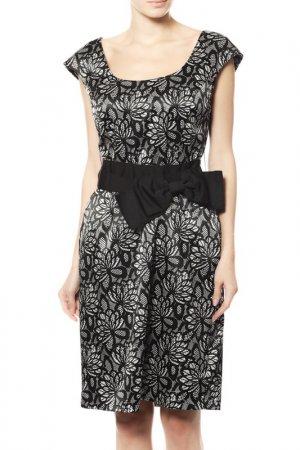 Платье Joseph Ribkoff. Цвет: черный, белый