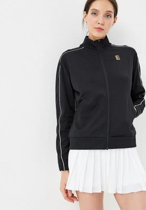 Олимпийка Nike NikeCourt Womens Tennis Jacket. Цвет: черный