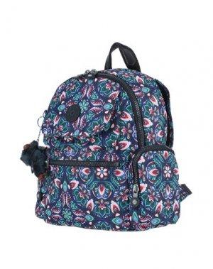Рюкзаки и сумки на пояс KIPLING. Цвет: синий