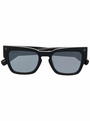 Солнцезащитные очки с логотипом Dsquared2 Eyewear. Цвет: черный