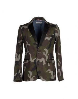 Пиджак MACCHIA J. Цвет: зеленый-милитари