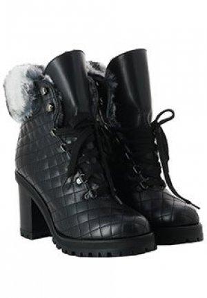 Ботинки LERRE. Цвет: черный