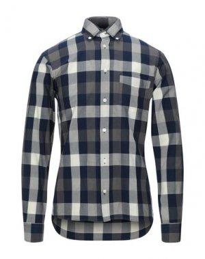 Pубашка AQUASCUTUM. Цвет: светло-серый