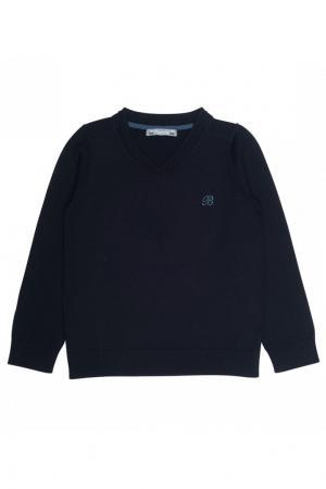 Пуловер шерстяной черный Bonpoint. Цвет: черный