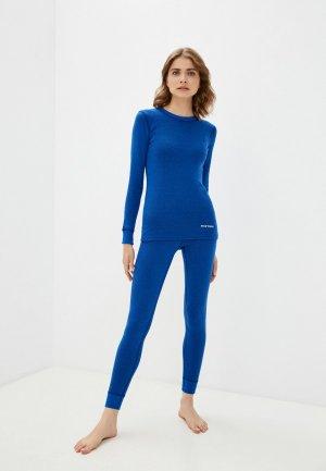 Комплект термобелья Montero Cotton Comfort. Цвет: синий