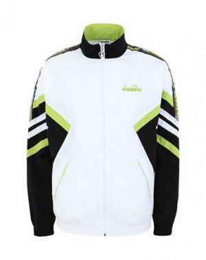Куртка DIADORA. Цвет: белый