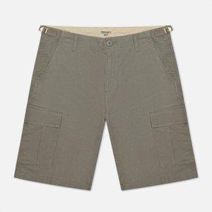 Мужские шорты Aviation 6.5 Oz Carhartt WIP. Цвет: серый